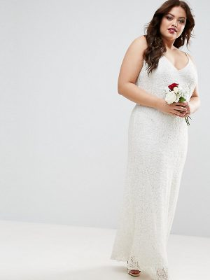Asos CURVE Embellished Cami Wedding Dress Plus Sizes