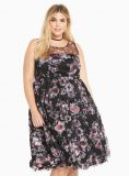 Torrid special occasion floral print dress