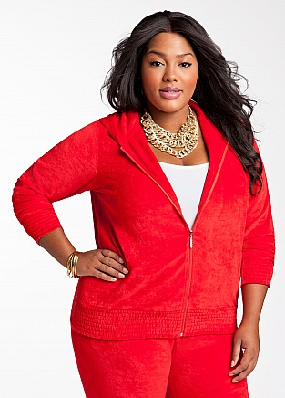 Active Plus Size Hoodie