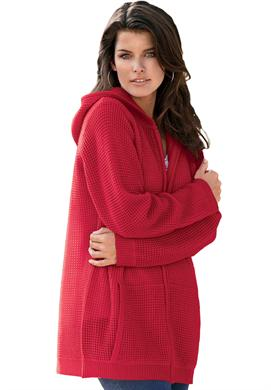 Thermal Cosy Plus Size Hoodie For Women