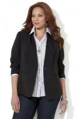 Bi Stretch Tailored Jacket Women Sizes 1X 2X 3X 4X 5X