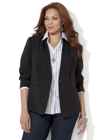Bi Stretch Tailored Jacket Women Sizes 1X 2X 3X 4X 5X