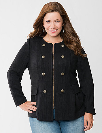 Warm and comfortable military inspired jacket