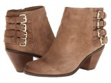 Moto bootie with buckles wide width available