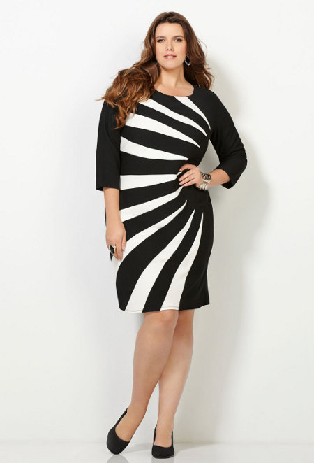 Slimming Dresses For Plus Size Women Plus Size Tops