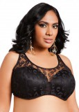 Lace Cami Bra black & grey color women sizes from 38DDD to 46DDD