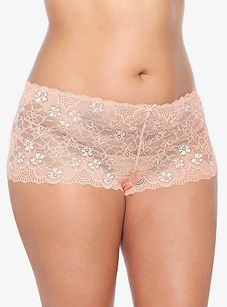 Plus size Cheeky Lace Pantie