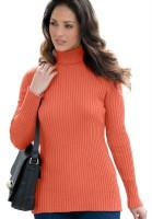 Trutle Neck Women Plus Size Cotton Sweater