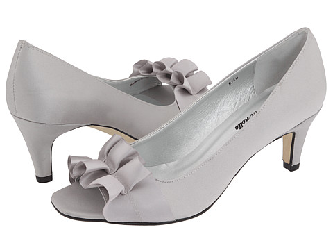 Vaneli Madora are chic and comfy wide width prom shoes