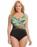 Women's Sizes 18- 24 Sea Escape One Piece Miraclesuit Swimsuit