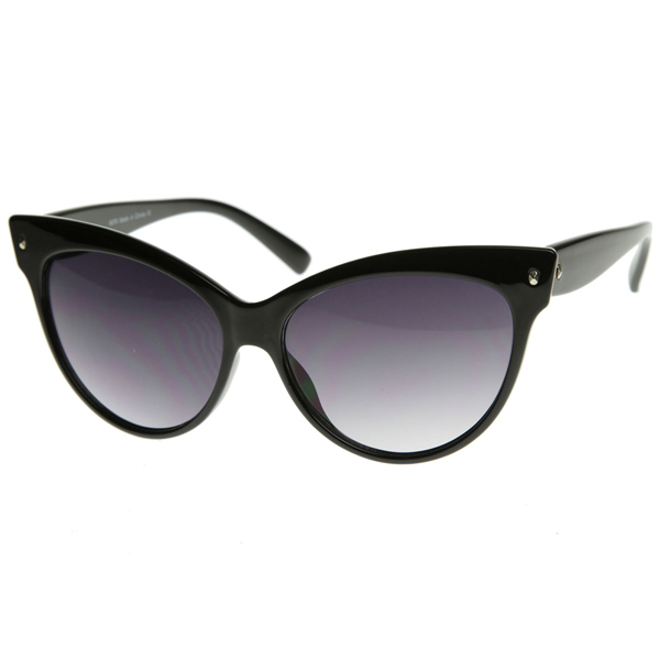 High Pointed Vintage Mod Womens Fashion Cat Eye Sunglasses