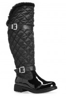 Knee High Warm Wide Calf Linden All Weather Boot
