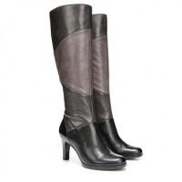 Naturalizer Analise Multi Tonal Color Block Knee High Boots