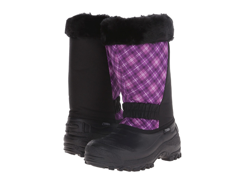 Tundra Boots Glacier Wide Calf Water Resistant Temperature rated womens boot