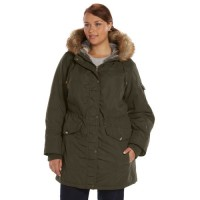 Plus Size Apt. 9 Hooded Anorak Parka