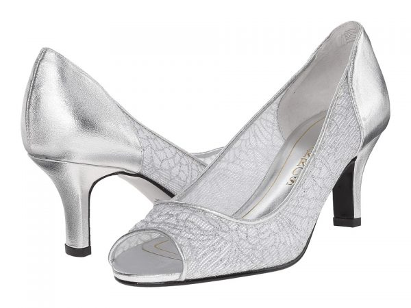 Caparros Bettina open toe pump
