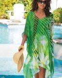 royal palm caftan tunic