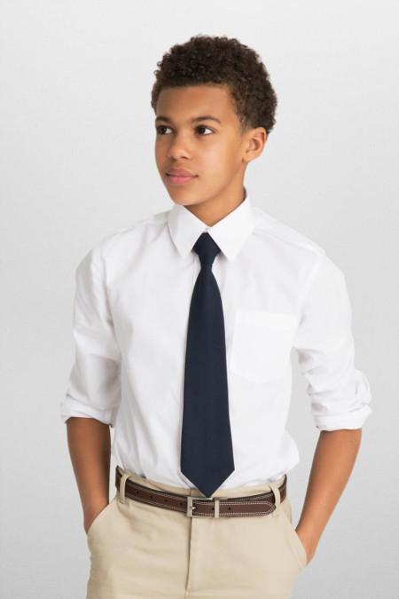 Long Sleeve Dress Shirt With Expandable Collar