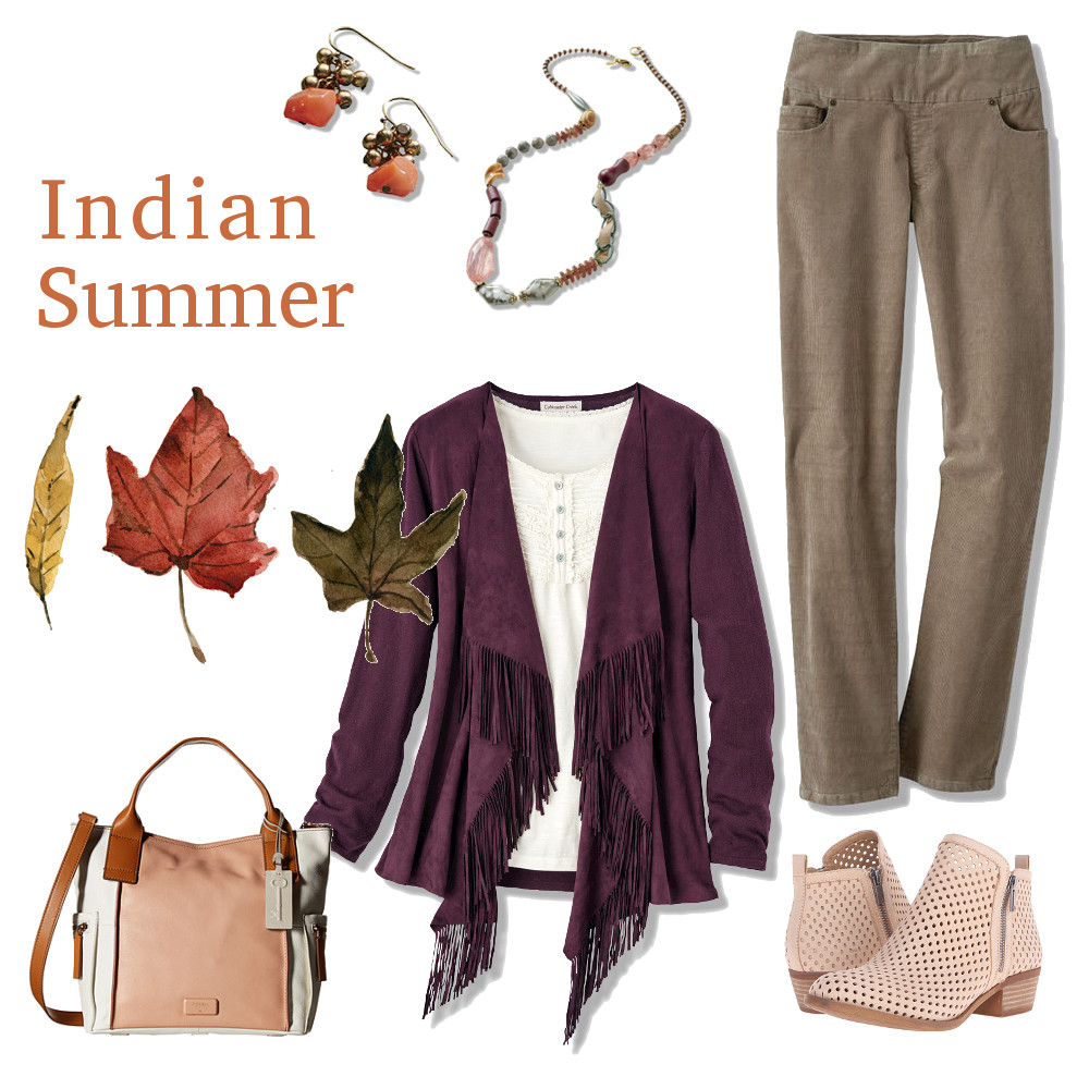 Indian Summer Outfit in women's plus sizes