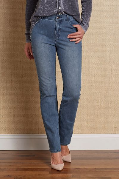 Classic straight jeans by Soft Surroundigns
