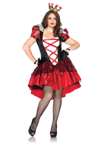 womens plus royal queen costume