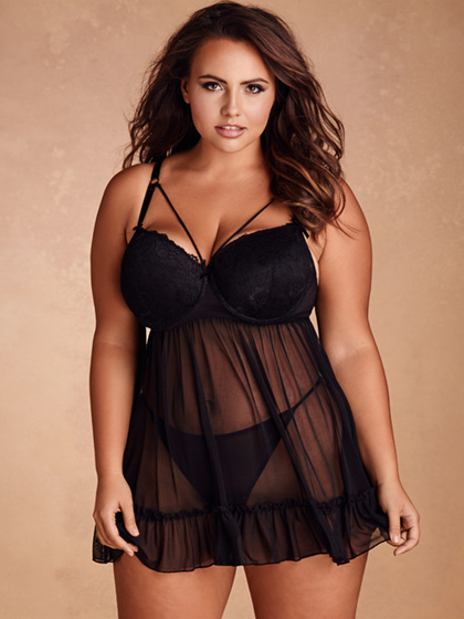 Twilight Seduction Strappy Babydoll
