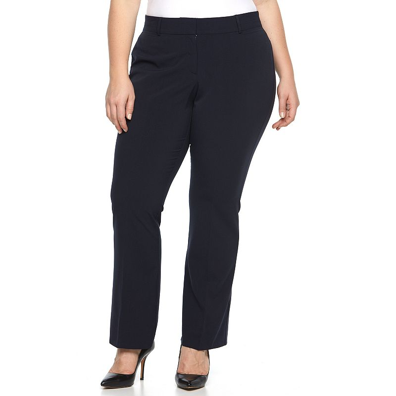 Plus size curvy boot pants