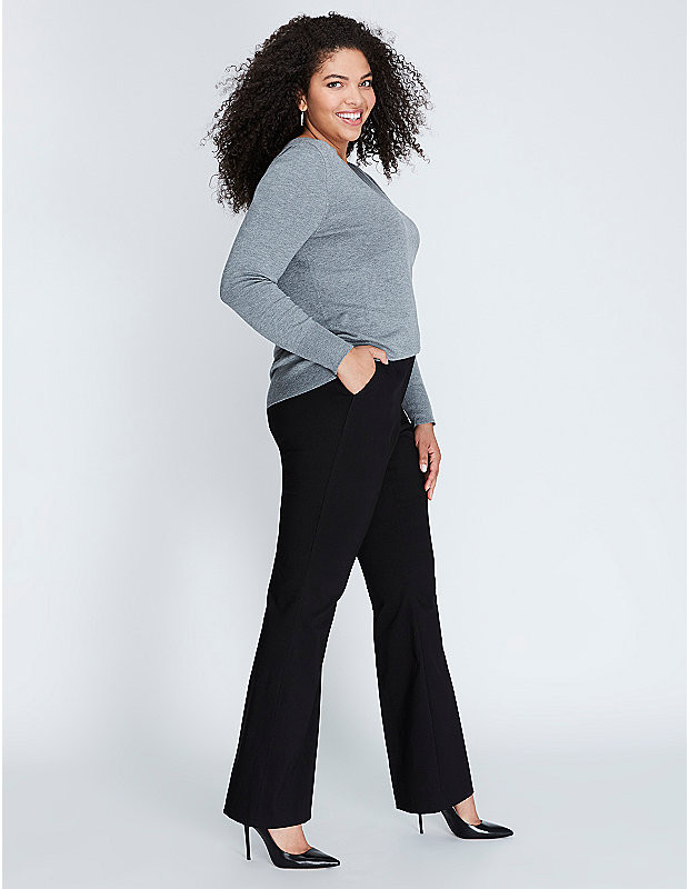 Sexy Stretch Boot Pant by Lane Bryant