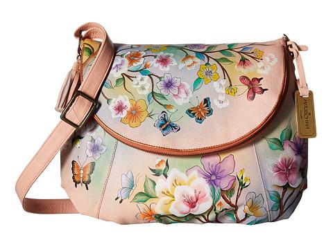 Anuschka Handbags 482 Large Flap-Over Convertible