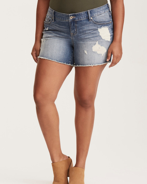 IMAGES Plus Size Torrid Skinny Shorts – Light Wash with Ripped Destruction and Frayed Hem, SURFSIDE, hi-res product.imageZoom.title  Plus Size Torrid Skinny Shorts – Light Wash with Ripped Destruction and Frayed Hem, SURFSIDE, hi-res Plus Size Torrid Skinny Shorts – Light Wash with Ripped Destruction and Frayed Hem, , alternate Plus Size Torrid Skinny Shorts – Light Wash with Ripped Destruction and Frayed Hem, , alternate Plus Size Torrid Skinny Shorts – Light Wash with Ripped Destruction and Frayed Hem, , alternate Torrid Skinny Shorts – Light Wash with Ripped Destruction and Frayed Hem