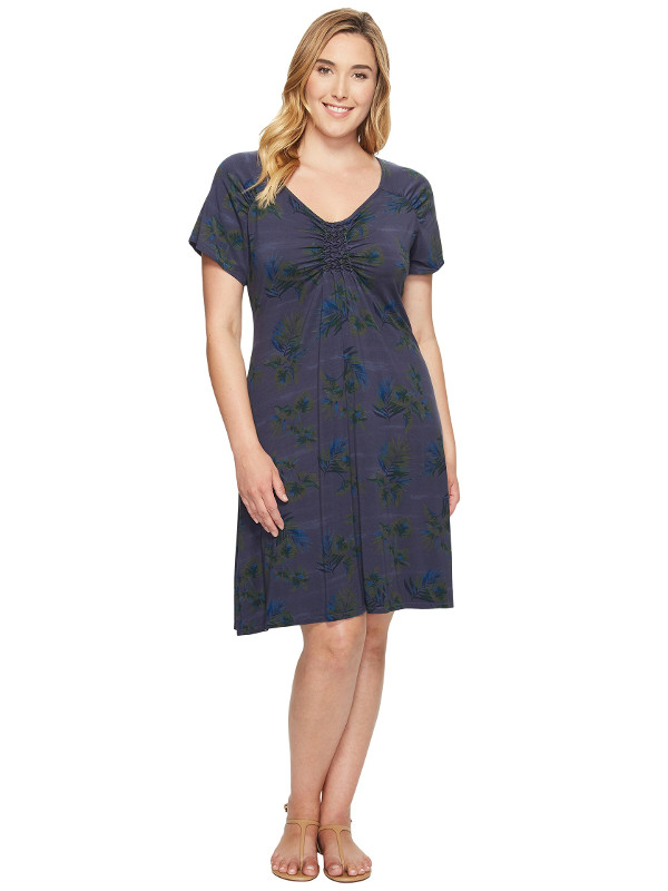 Extra Fresh by Fresh Produce Plus Size Off Shore Emma Dress