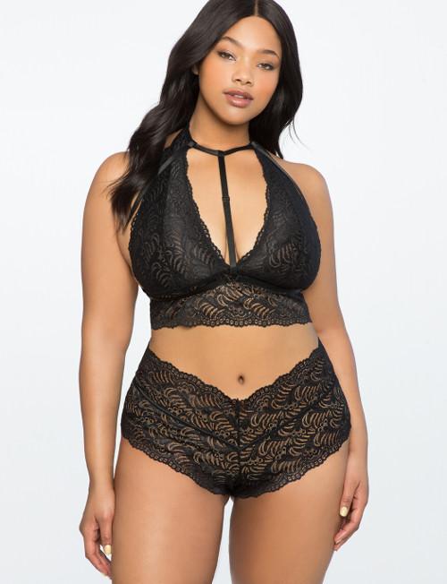 Plus size lace bralette
