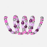 BERRY COIL STRETCH BRACELET