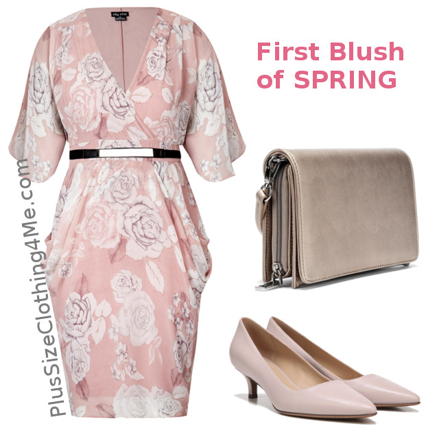 The First Blush Of Spring Outfit