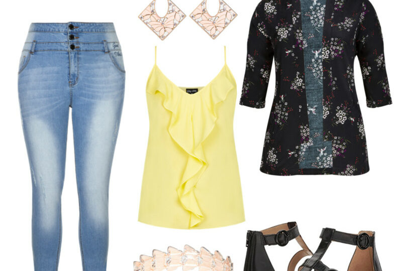 butterfly garden outfit