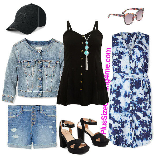 Easy Black Tank Top Outfit