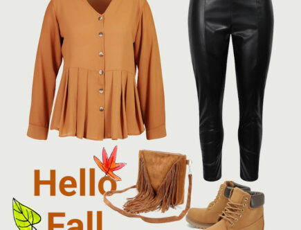 Pumpkin Spice Fall Outfit