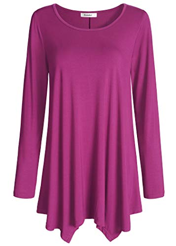Plus Size Tunic Top is Good Choice for Casual Friday Outfit Top