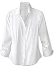 plus size white shirt