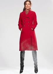 plus size wool blend fall coat