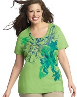 casual chic plus size graphic tees