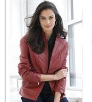 plus size leather bomber jacket