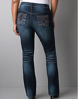 Lane Bryant Plus Size Slim Leg Jeans