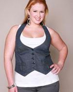 Chic Plus Size Vest
