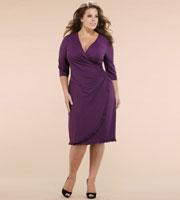 chic flattering plus size dresss