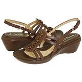 Comfortable wide width wedge sandals
