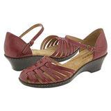 Comfy wide width wedge sandals